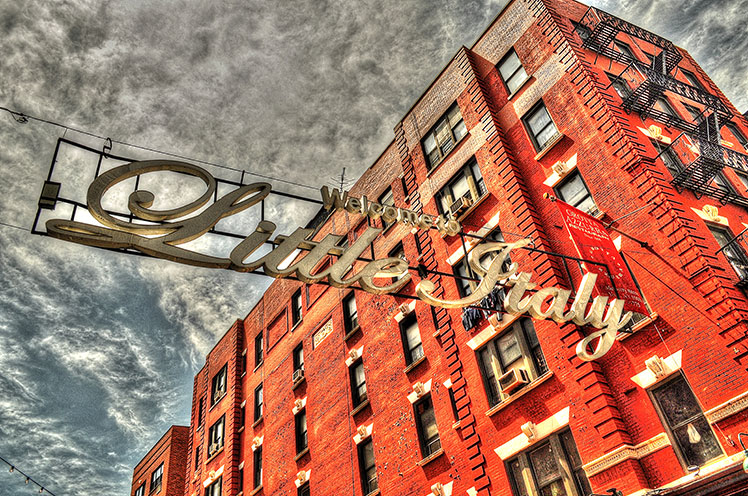 Little Italy New York photograph by John Beadle